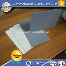 reciclar a placa plástica 1.8mm 2mm 3mm folha dura da superfície rígida pvc