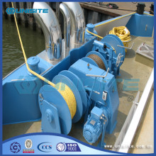 Steel mooring marine winch