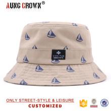 Casquillo de encargo barato del cubo / sombrero del casquillo del cubo / casquillo y sombrero del cubo