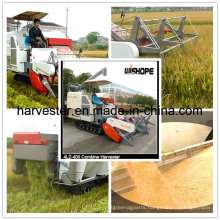 Full Feeding 4.0kg/S Combine Harvester for Rice