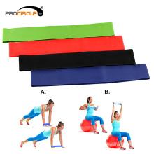 Gym Fitness Home ejercicio diferentes bandas de látex de resistencia