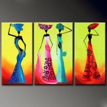 Известная масляная живопись оптовых людей