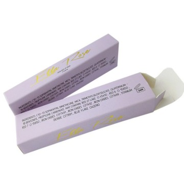 Lápiz labial personalizado Packaging Cosmetic paper Box
