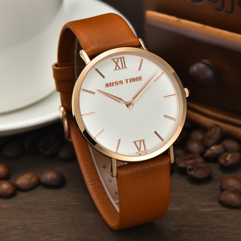 all type of classic leather western band men wrist watch