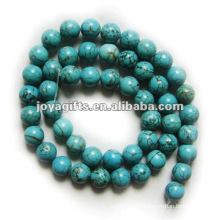 7MM Gemstone Turquoise round Beads