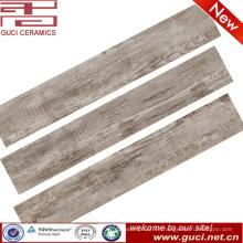 porcelana de madera rústica del azulejo de la mirada del fabricante de China para la construcción de la tienda