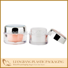 cosmetic packaging with double wall jar