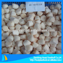 Bay Scallops taste slightly sweet and have a smooth texture
