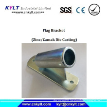 Die Casting Boat Zinc Flag Bracket/Holder