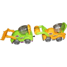 Puxe o brinquedo de promoção de caminhão de linha para doces