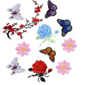 Bunga Embroidery Applique Patches Used for Clothing