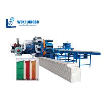 Rollformmaschinen der Serie Garagen-/Sektionaltorplatten