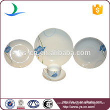 20pcs blue China Ceramic Dinnerware Sets Wholesale
