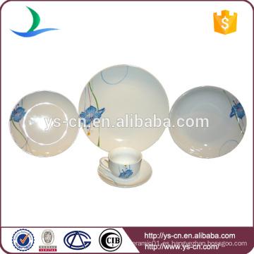 La vajilla de cerámica azul de 20pcs China fija por mayor