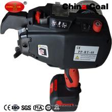 Machine à attacher automatique de fil de Rebar d'acier de la batterie Li-ion de PP-Rt-40