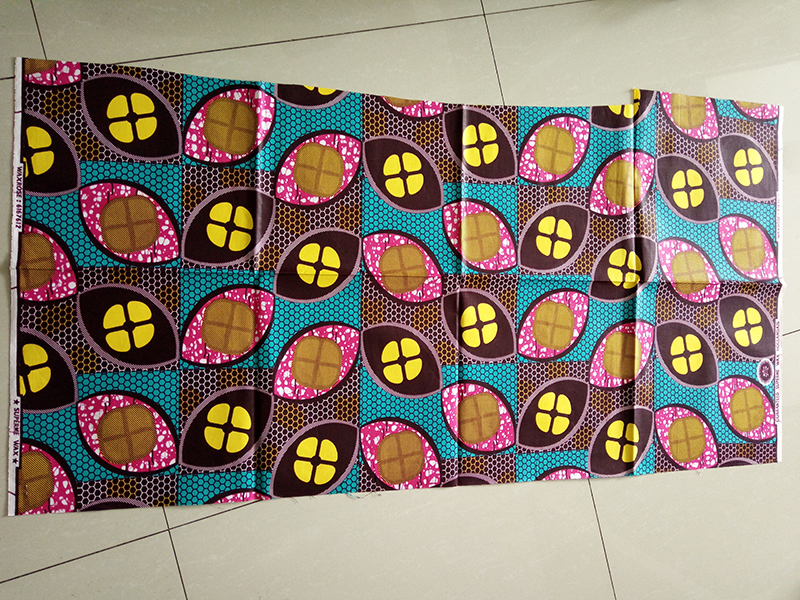african java super wax print fabric