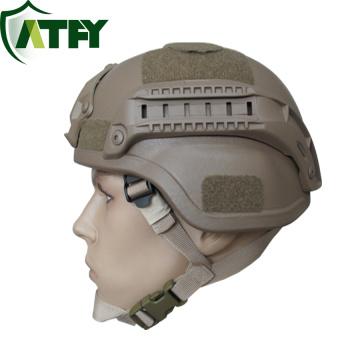 Kugelsicherer Aramid Mich-Helm mit NIJ III A-Standard für militärischen Schutz