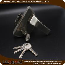 Palanca de cerradura de puerta de vidrio de aleación de zinc de tipo de venta caliente de diseño exclusivo caliente exportando en europ