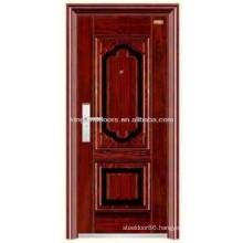 Steel Exterior Steel Security Door KKD-305 Made In China Commercial Steel Door Design
