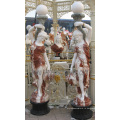 Резная мраморная скульптура резьба каменная статуя с гранитным песчаником (SY-X1686)
