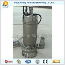Pompe d'égout submersible de haute qualité pour le traitement des eaux usées