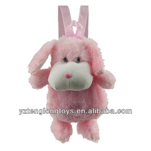 Factory Wholesale Animal Shaped Plush Backpack Bunny Backpack