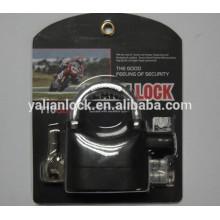 Top security padlock alarm function