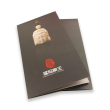 High Quality Glossy Lamination Customzied Brochure Printing