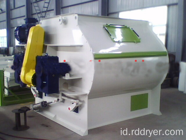 Bubuk Kering Ganda Shaft Paddle Blender
