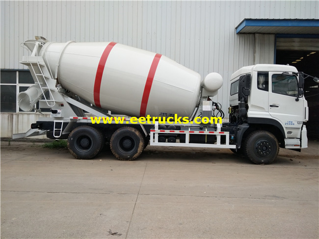 10 Wheeler Beton Mixing Trucks