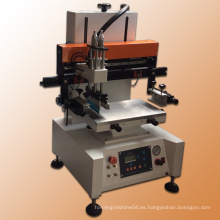 Sostenedor de la tarjeta de crédito del silicio Impresora automática de la pantalla de seda / máquina de impresión de la pantalla de la mesa