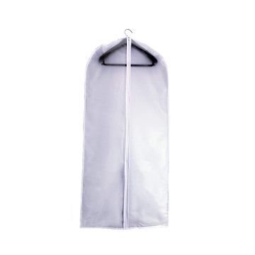 High Density Plastic Zippered Kleid Kleidersack