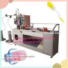 máquina torcida da escova de limpeza da garrafa de bebê do fio
