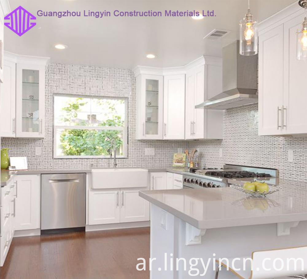 affordable price shaker kitchen design factory sale 4