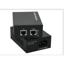 RJ-45 Connectors IEEE82.3AF POE Power Injector 48V 15.4W / 25W
