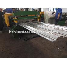 Boa qualidade Preço Galvanizado Aço Sheet Floor Deck Roll formando máquina, Metal Floor Support Plate Machine para venda