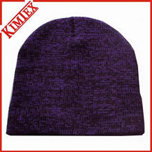 Winter Promotion Heathered Knitting Beanie Hat