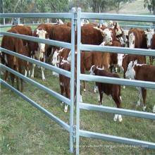 Clôture de panneaux de fer à cheval en métal souple