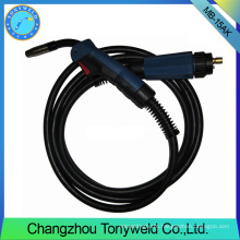 Binzel MB 15AK MIG MAG CO2 torch euro adaptor welding torch
