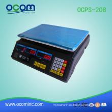 OCPS-208: venta caliente Escala electrónica de precios de pesaje electrónico
