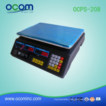 OCPS-208: hot selling Digital electronic weighing pricing scale