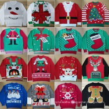 PK18A01MR Unisex China Christmas Sweater
