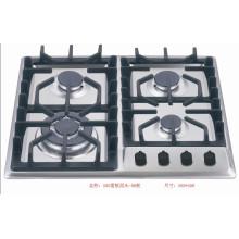 4 горелка Sabaf 2ND Gen газовая плита из нержавеющей стали