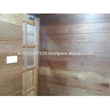 Meranti Holz massiv / Technik Wandpaneel