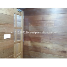 Meranti wood solid / engineering wall panel