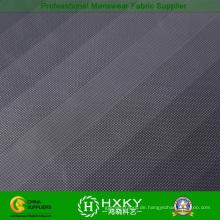 Gradient Stripe geprägtes Polyester Taft Stoff für Men′s Freizeitjacke