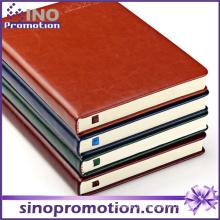 Caderno de capa dura chinês barato de alta qualidade 500 folhas