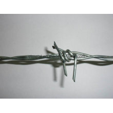 Galvanized Barbed Wire for Fencing