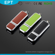 Leather 16 GB USB Flash Drive with High Speed for Free Sample