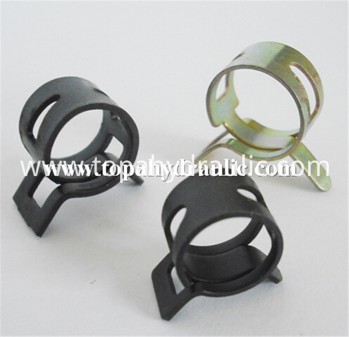 Black Hose Clamps